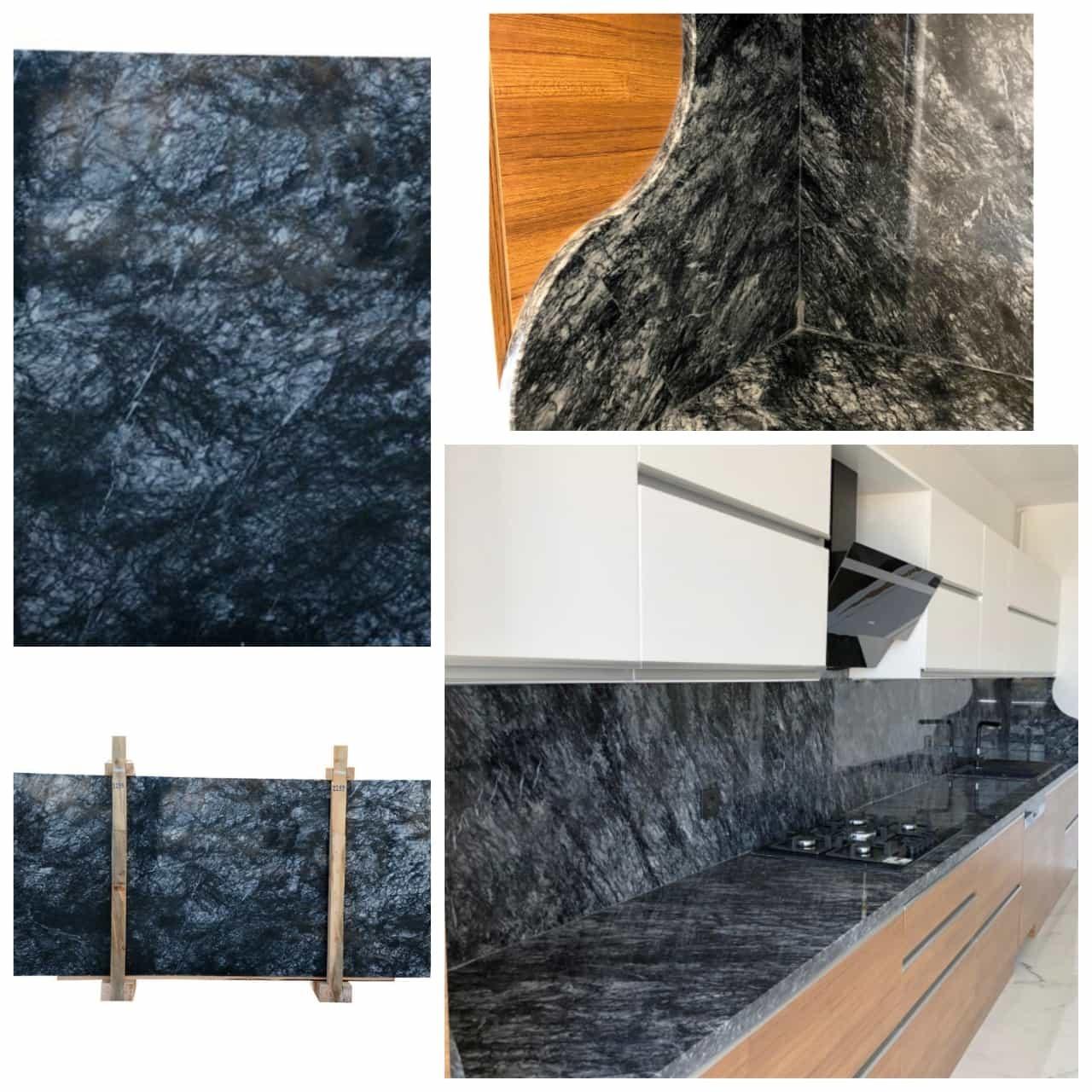 Black Olive-Turkish Carrara Black Marble
