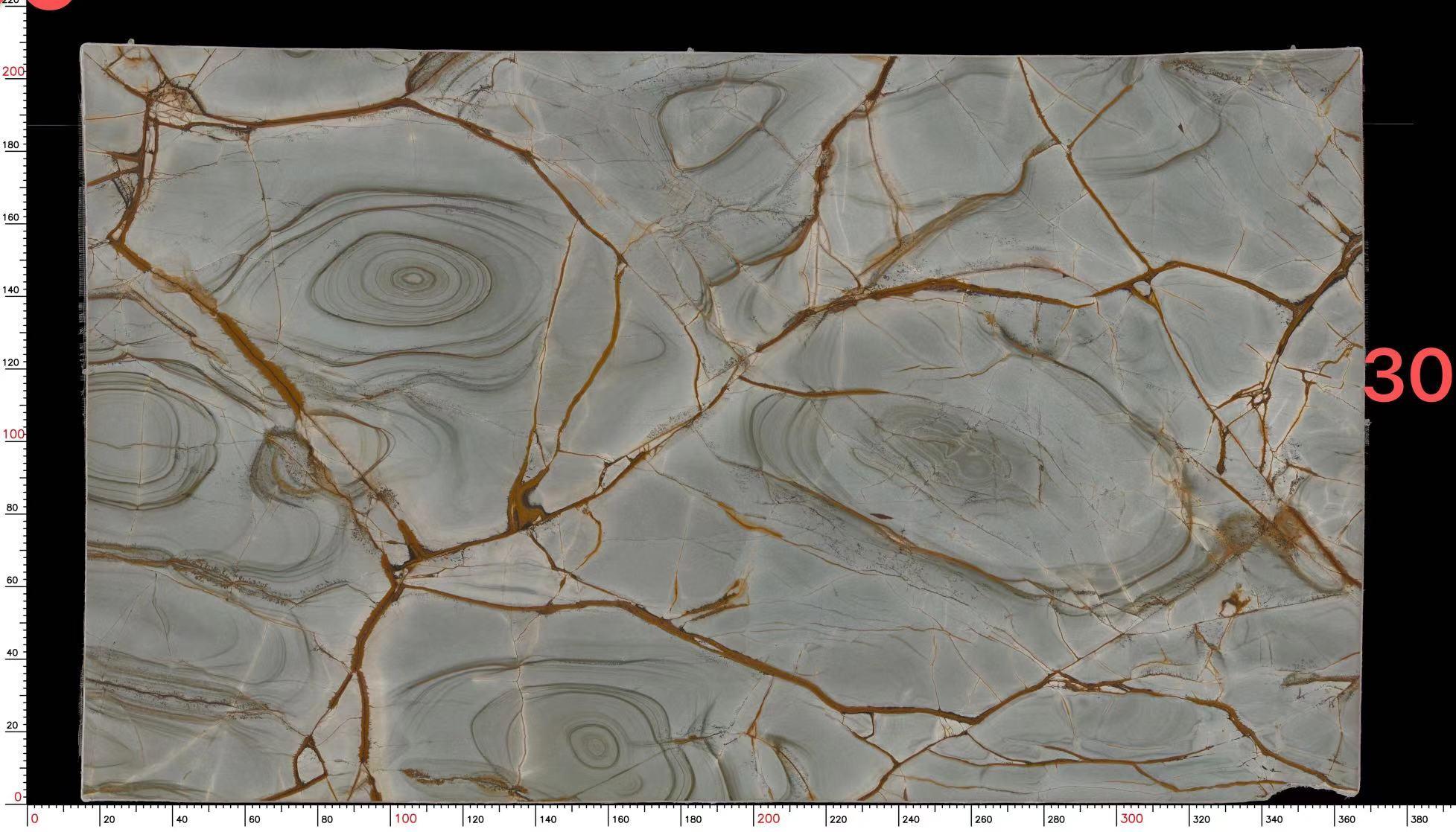 Azure quartzite