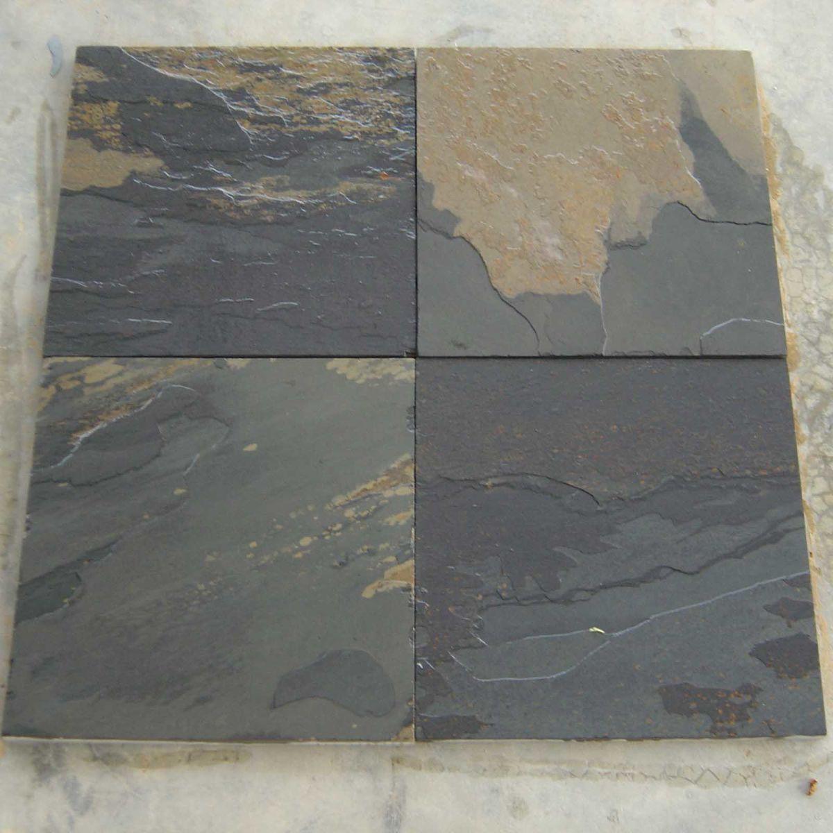 Black Rustic Slatestone