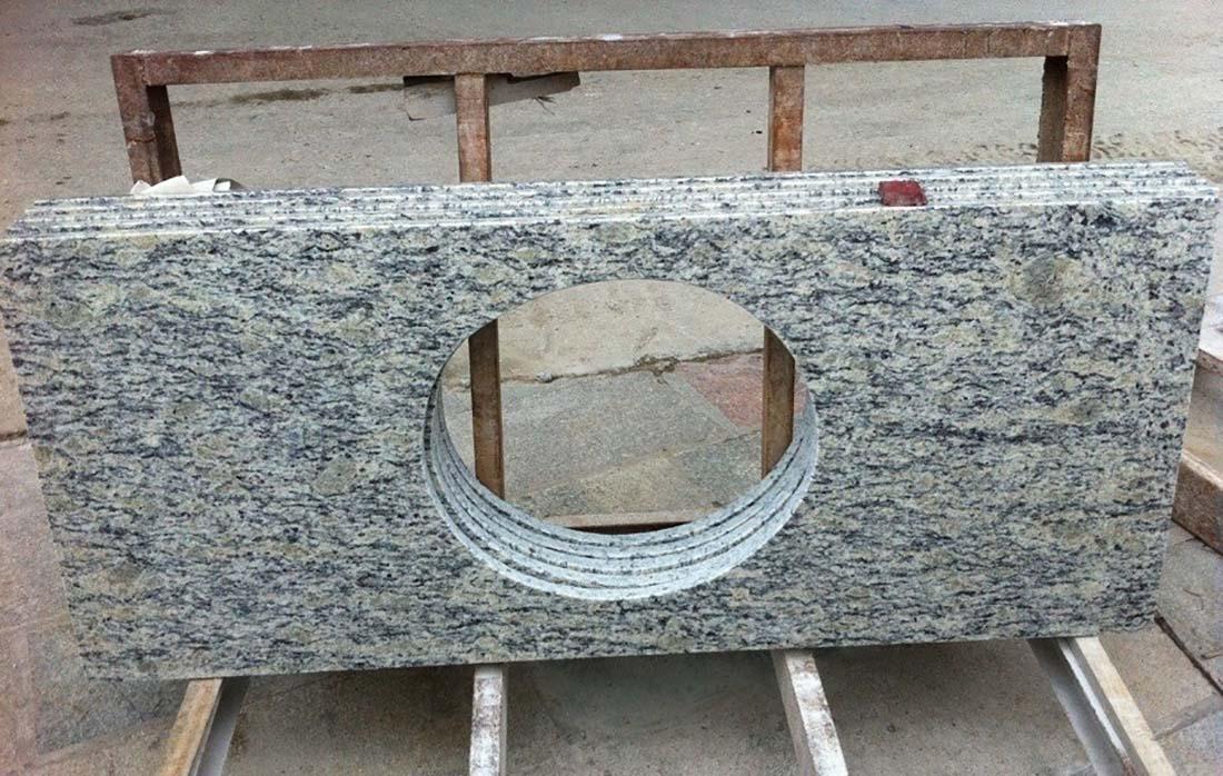 Santa Cecalia Granite Bathtops