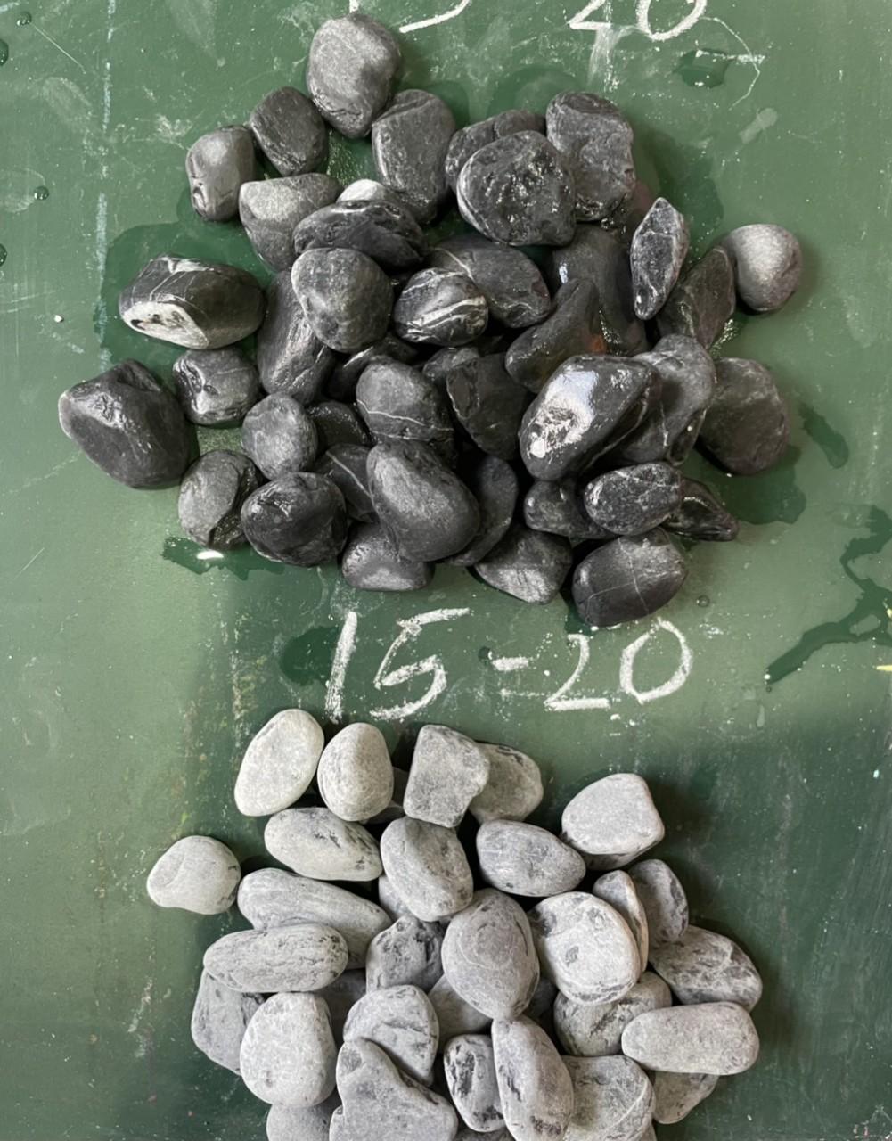 Black pebble marble