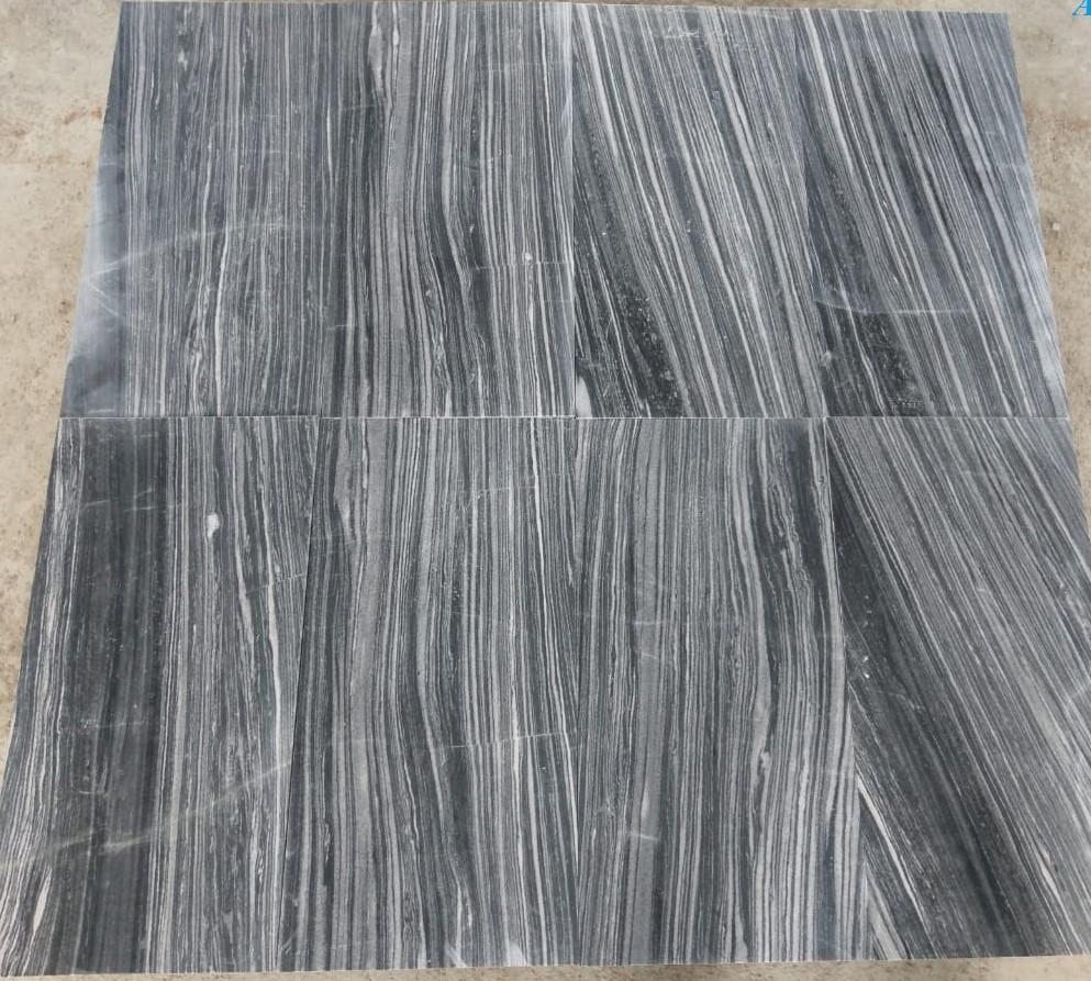 Tiger Vein Black Marble