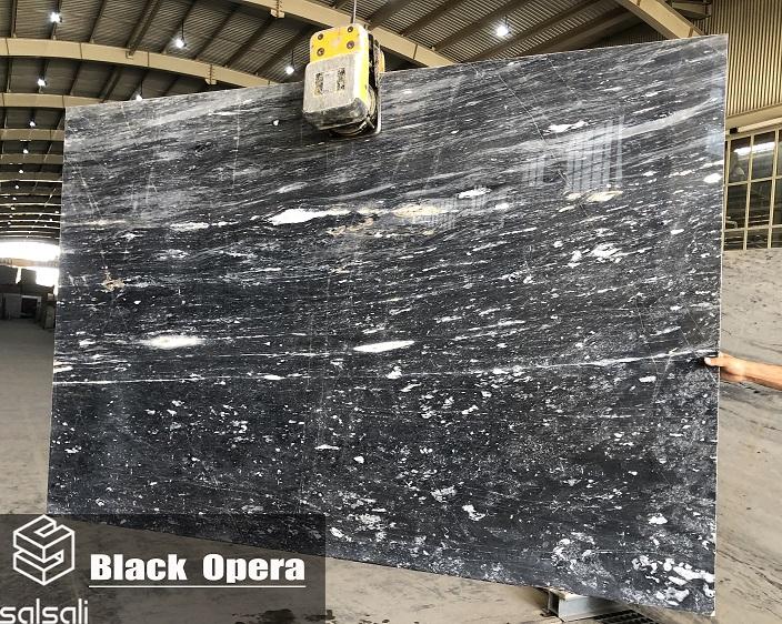 Opera Black Marble