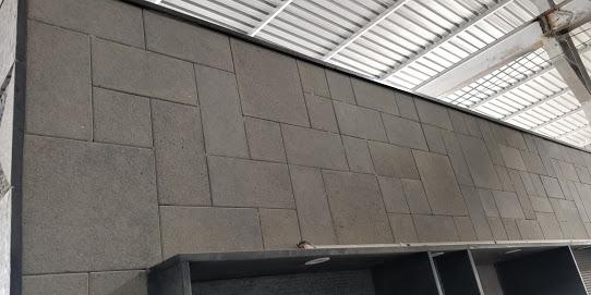 Indian Black Basalt - Blasted Patio Pavers