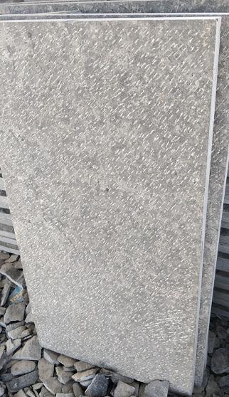 Indian Black Basalt - Sawn Hammer Chiseled