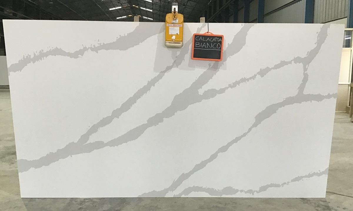 Calacatta Bianco - Quartz Slab