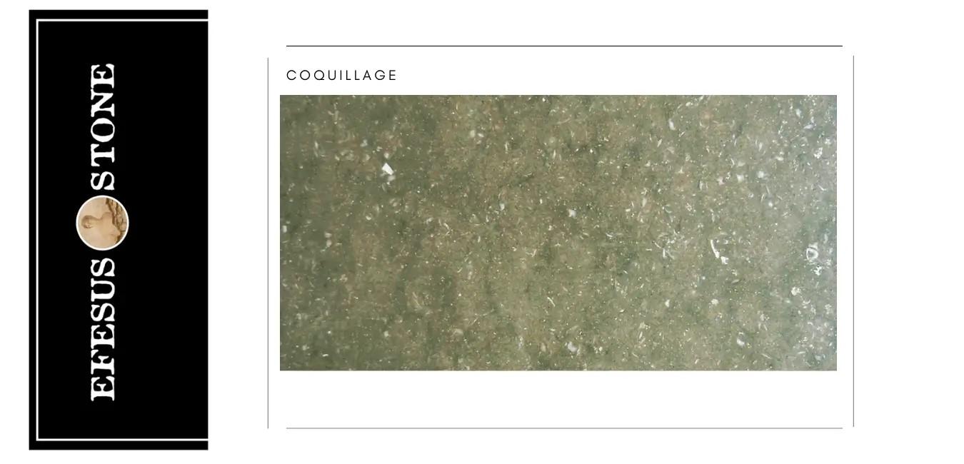Rustic Green Marble-Eflani Fossil Rustic Green