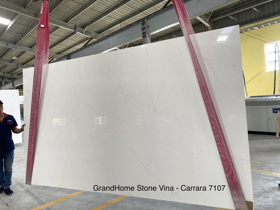 Quartz stone engineered stone Carrara Venatino