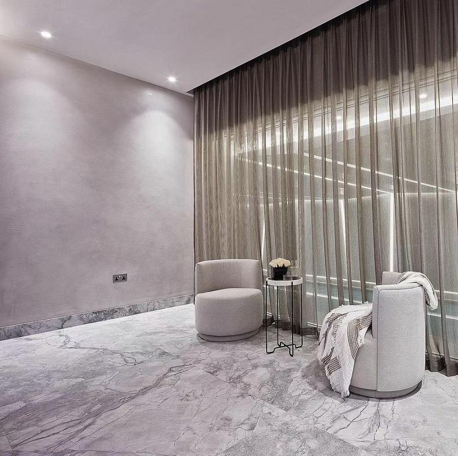 Carrara grey floor tile