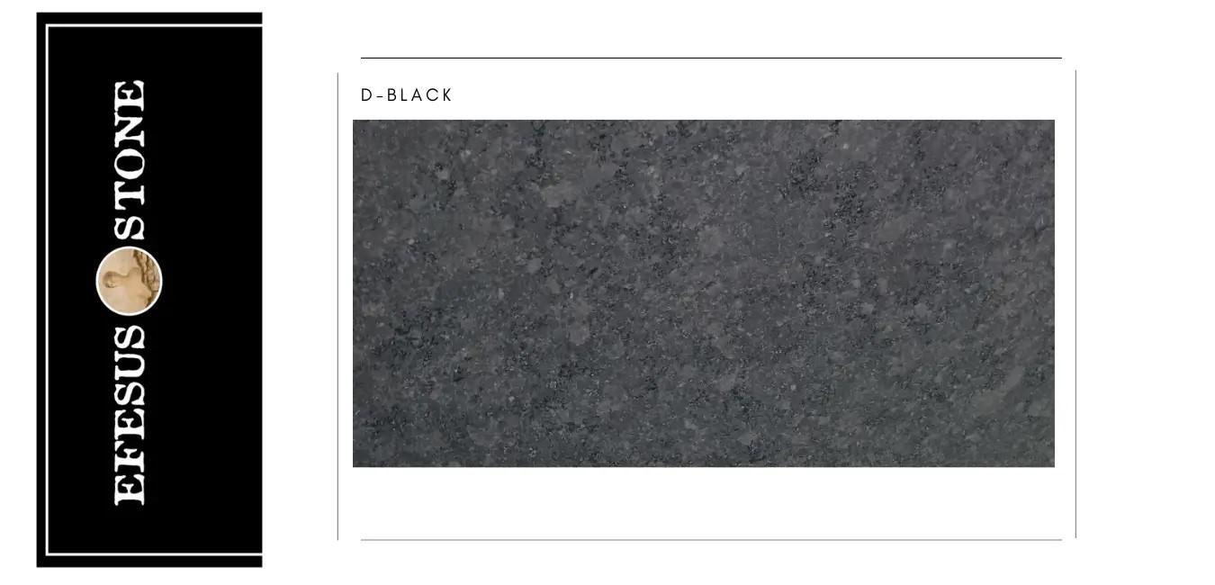 D Black Granite