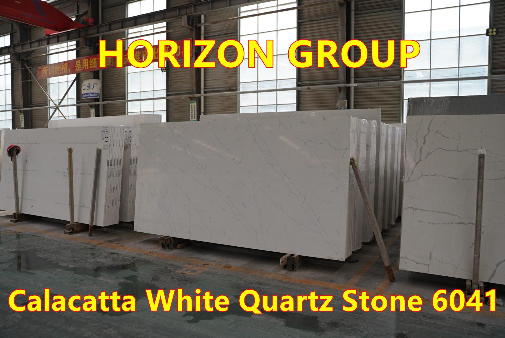 Quartz Calacatta White 6041 - Horizon Group