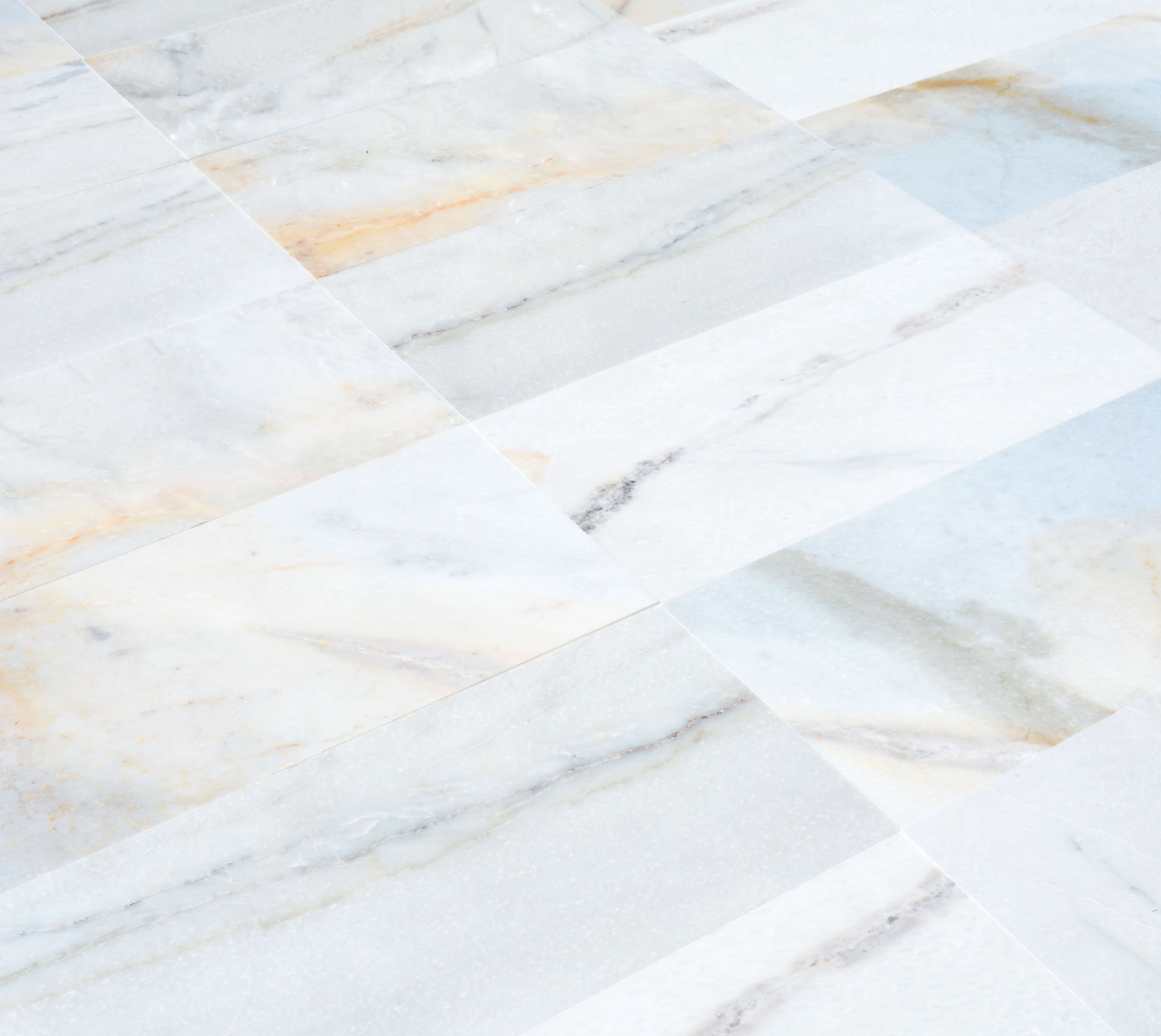 Afyon White Billur Gold Marble