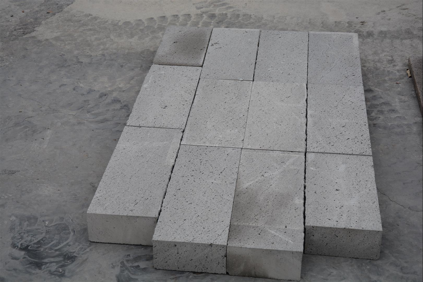 Andesite wall stone