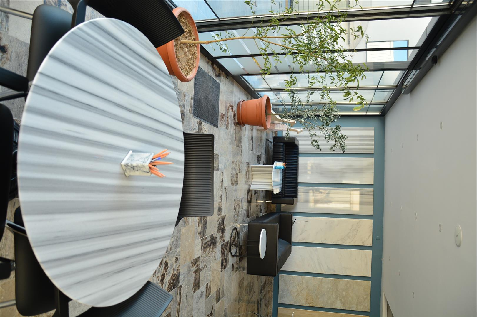 Marmara White Marble - Table