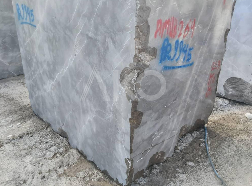 Emotion Grey Marble Block