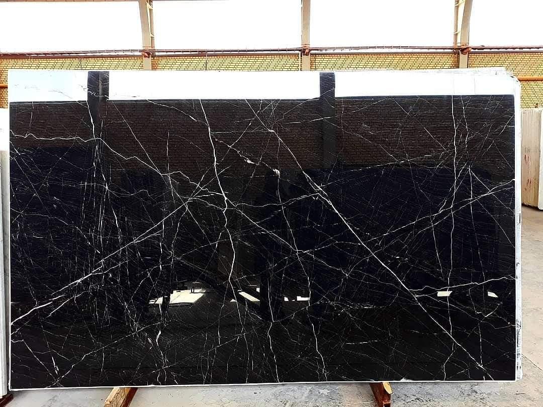 Black venom marble