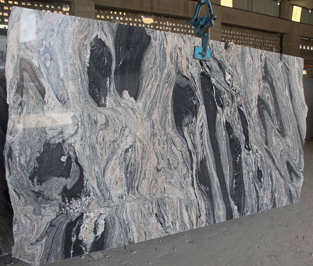Fancy Cloud Granite Slabs