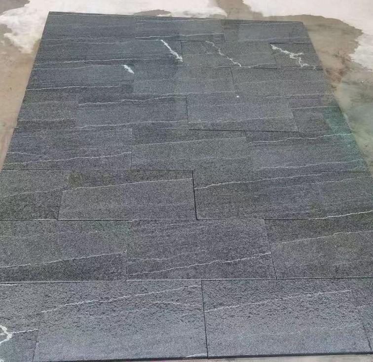 F dark green tiles unique veins
