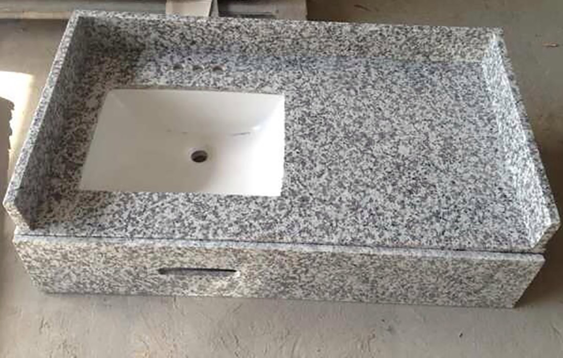 G439 granite Vanity Tops 1