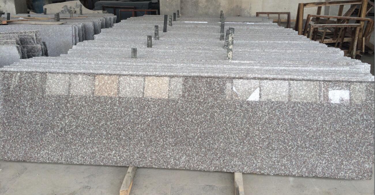 Original G664 granite slabs