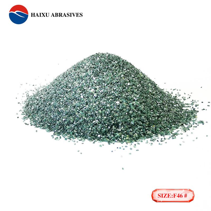 Green Silicon Carbide Grain for Marble Polishing