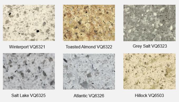 Vietnam Engineered Quartz slab - Granite Series