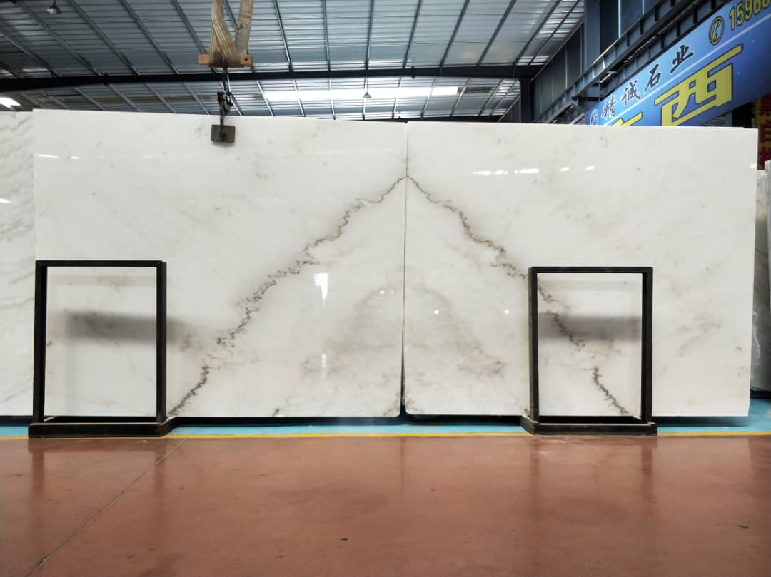 Guangxi Kwong Sal White Marble
