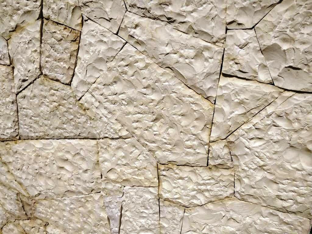 Engraved irregular stone