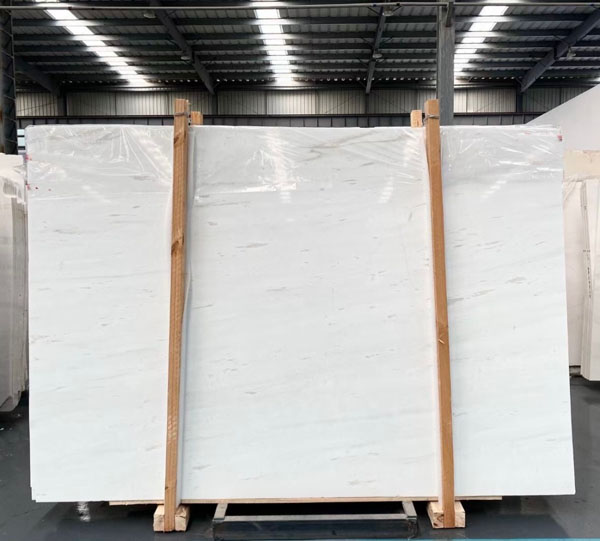 Thassoc Crystal White Marble Polished Slabs