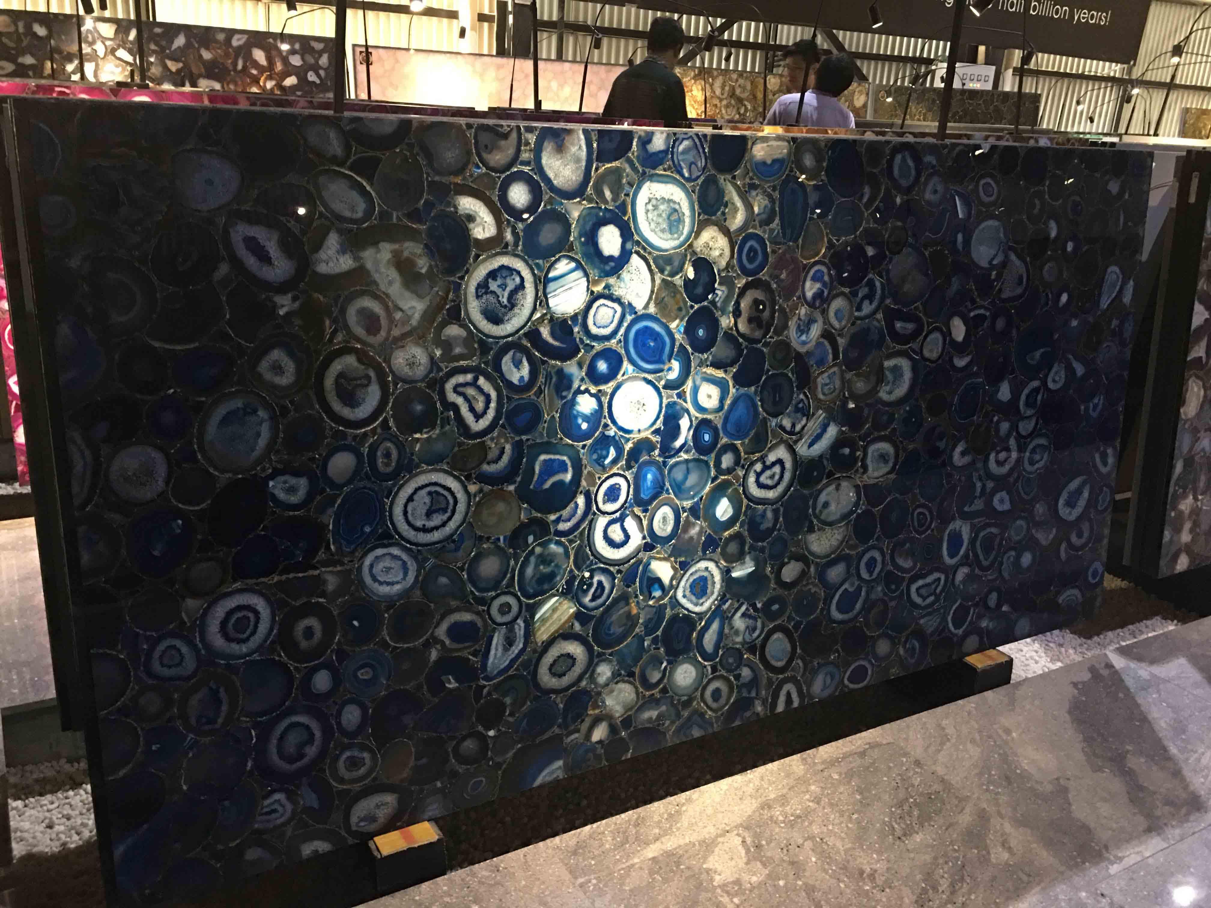Blue semi-precious stone
