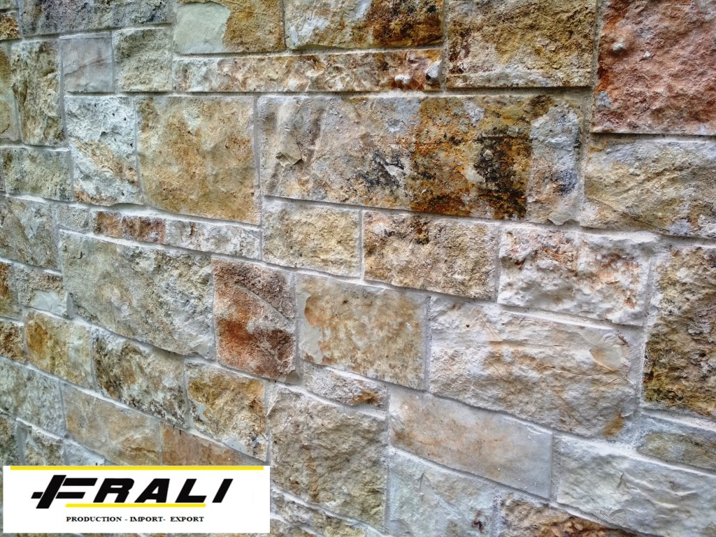 Cut natural stone