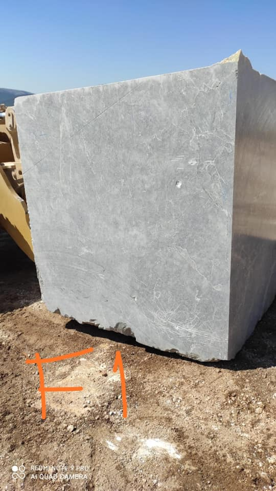 KUTAHYA GREY Marble Blocks