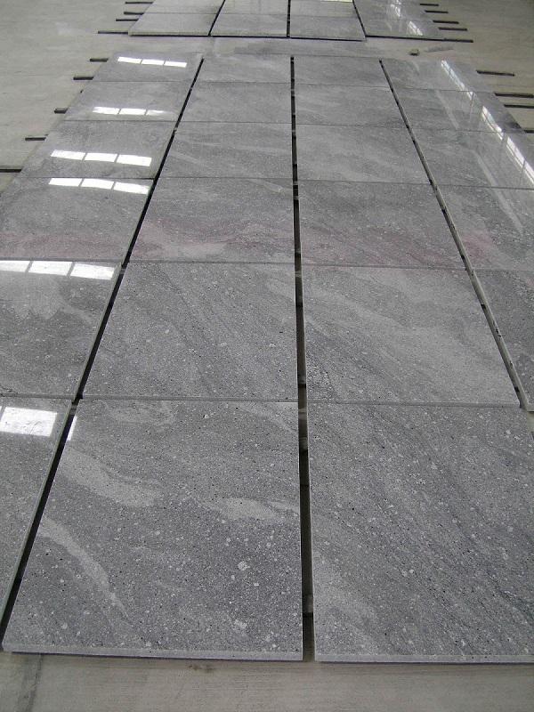 Landscape granite tile