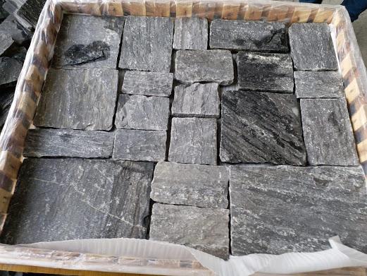 M. Black - Castle Stone  1m x 1m layer pack - mix sizes