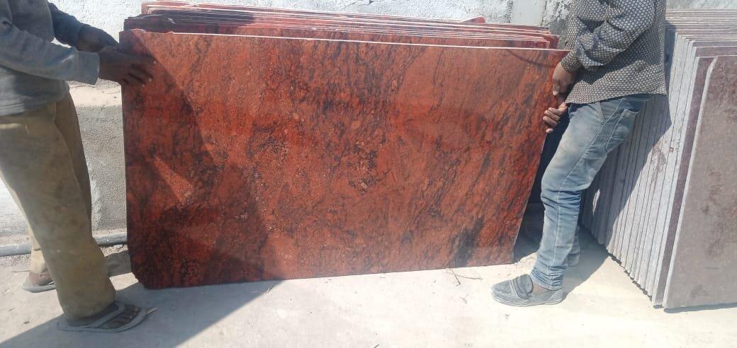 Raj Multi Red Granite