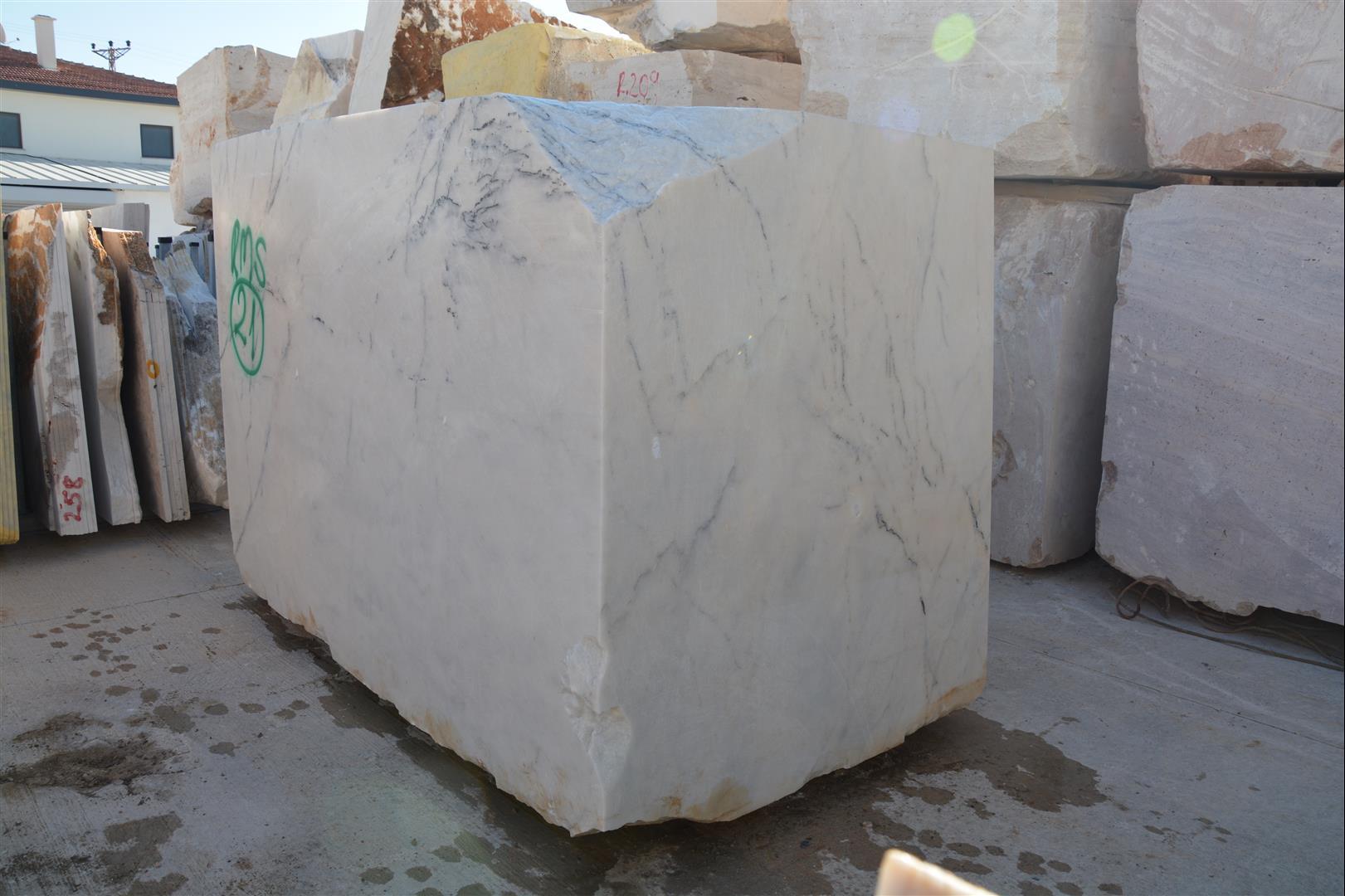 Milas White Lilac Marble-Turkey White Lilac Marble