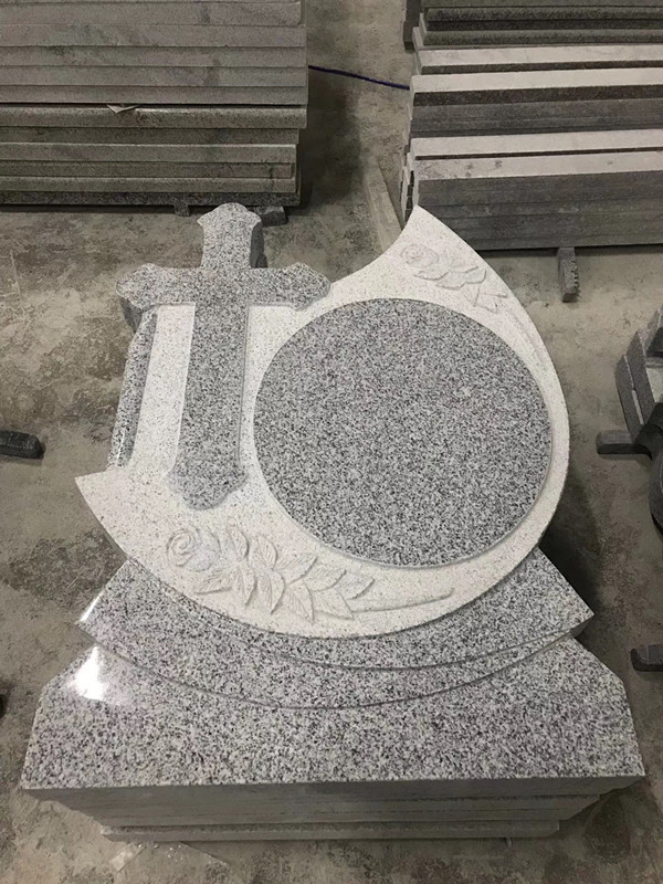 Granite G603 tombstone