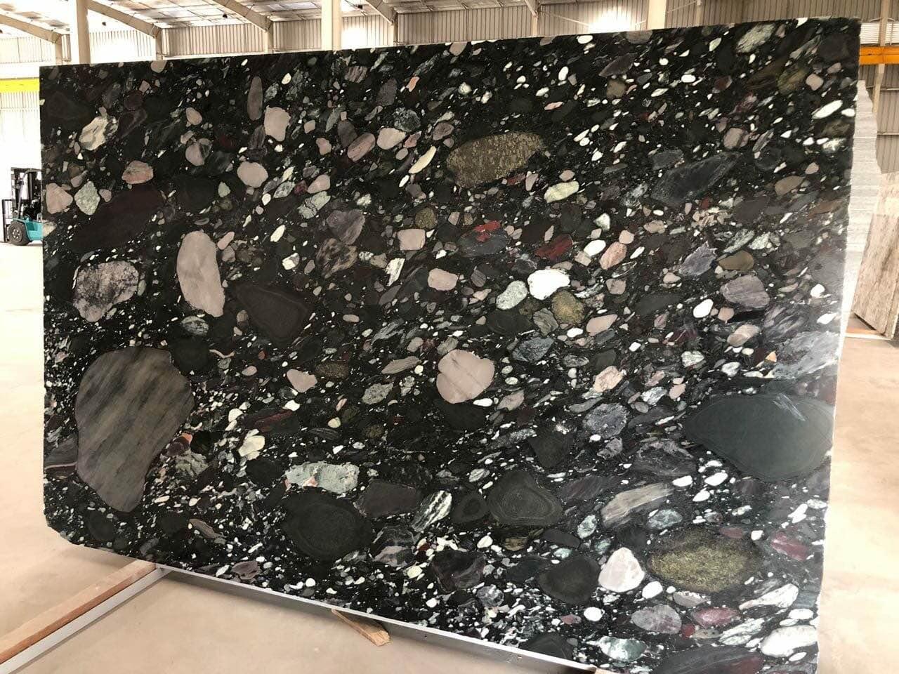 Pebble Black Granite