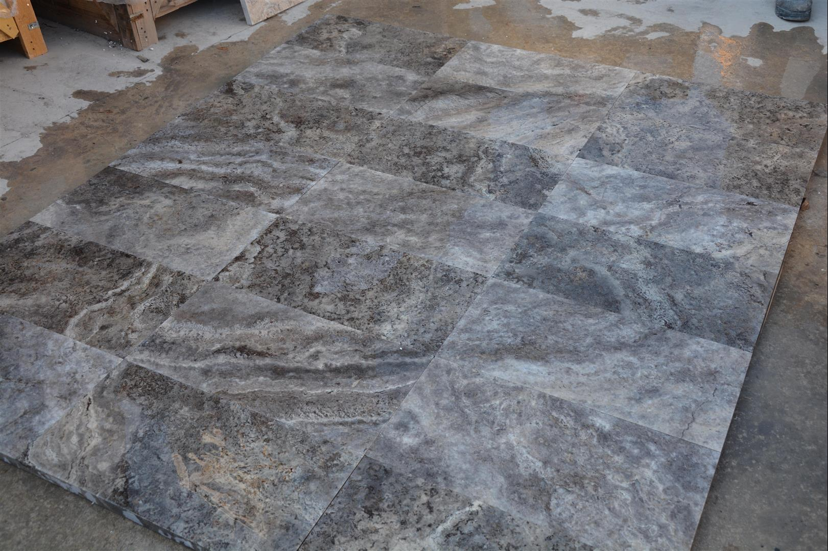 Silver Travertine