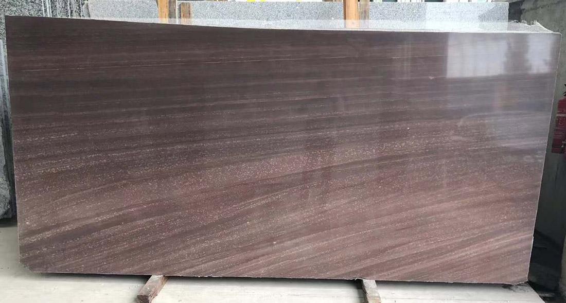 Purple Wooden Marble Slabs