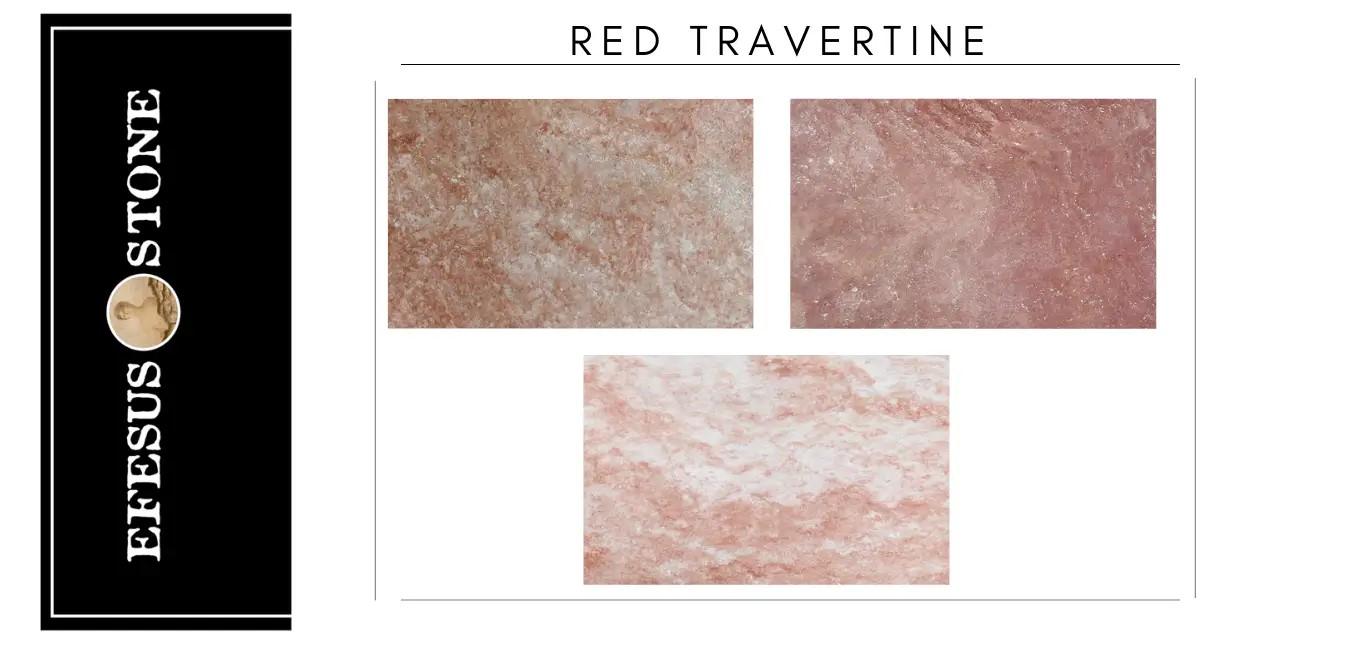 Antique Red Travertine