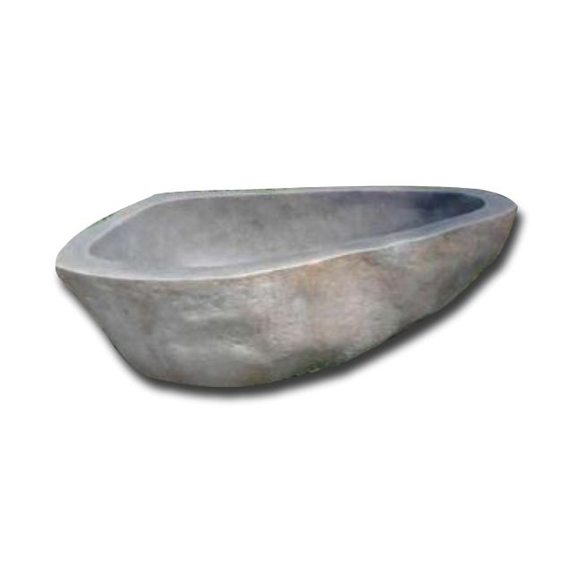 Indonesia Grey Basal Stone Bathtubs
