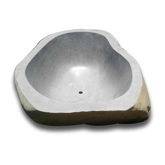 Balinese Stone Round Bathtub