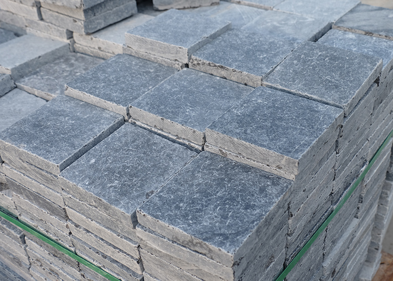 Blue Limestone Roman Pattern