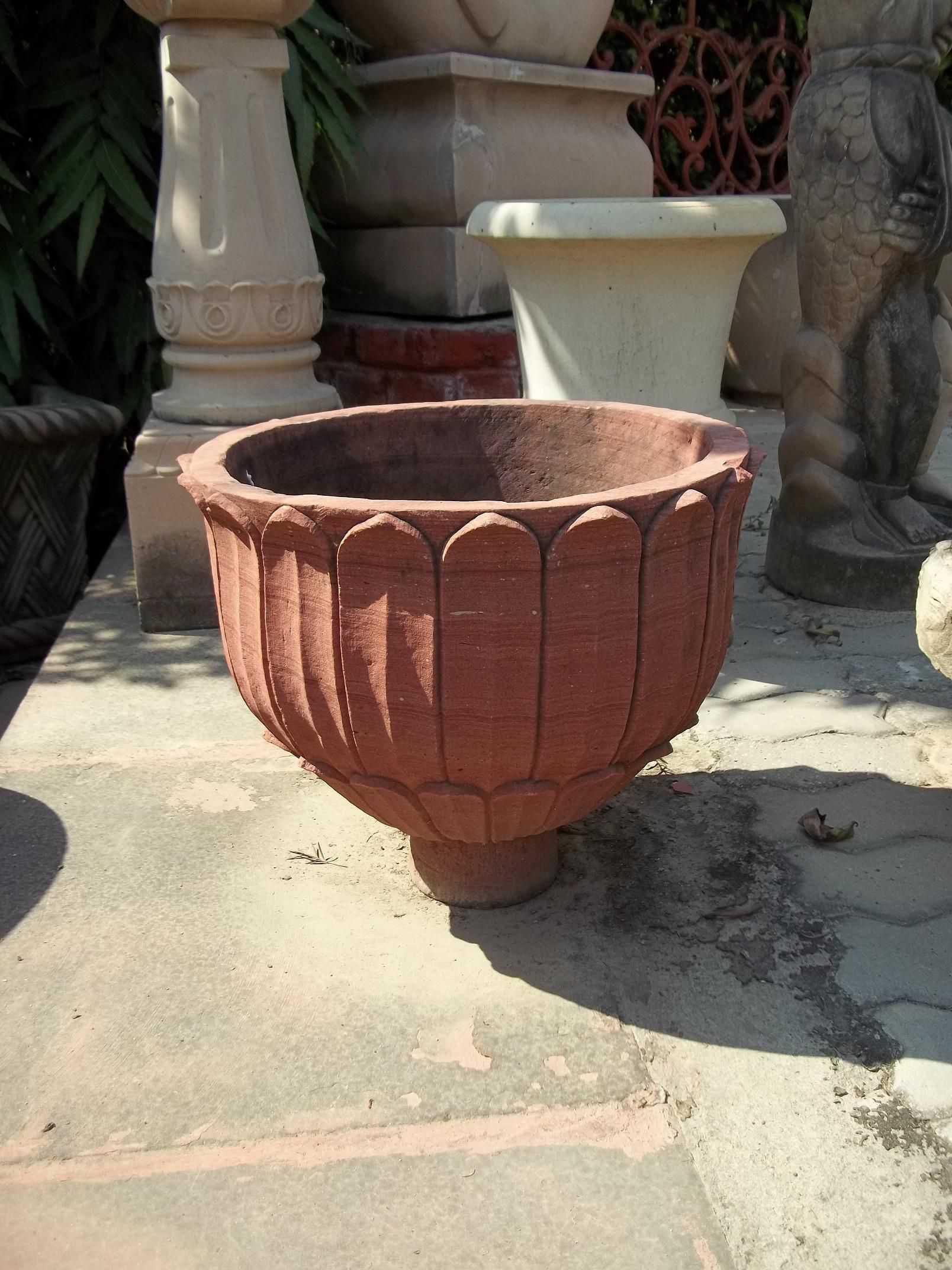 Exclusive Sandstone Planters