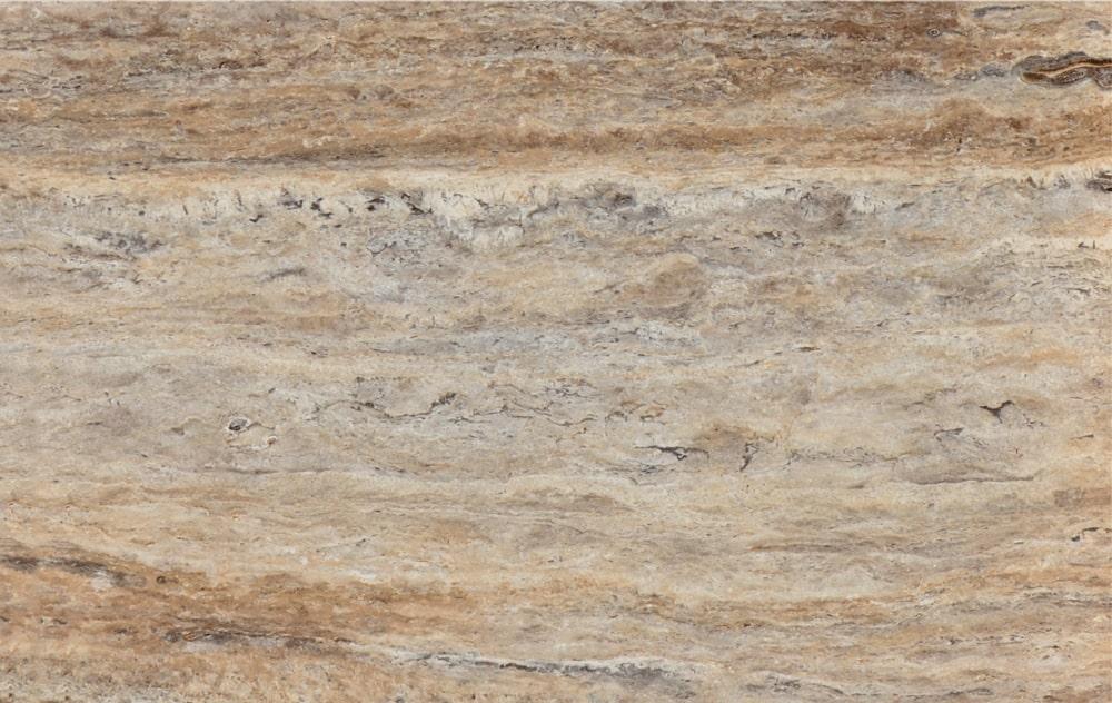 Latte Silver Travertine Vein Cut - Platinum Travertine