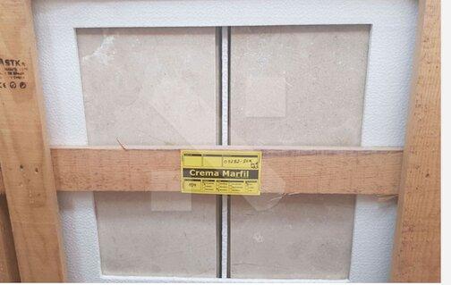 Crema Marfil marble tiles 60x40x2cm