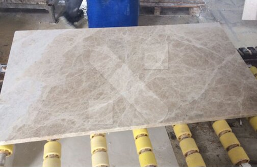 Light Emperador marble tiles 60x30x2cm