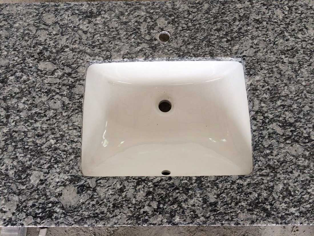 Spary White Granite Vanity Tops 1