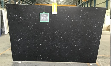 Star Black - Quartz Slab